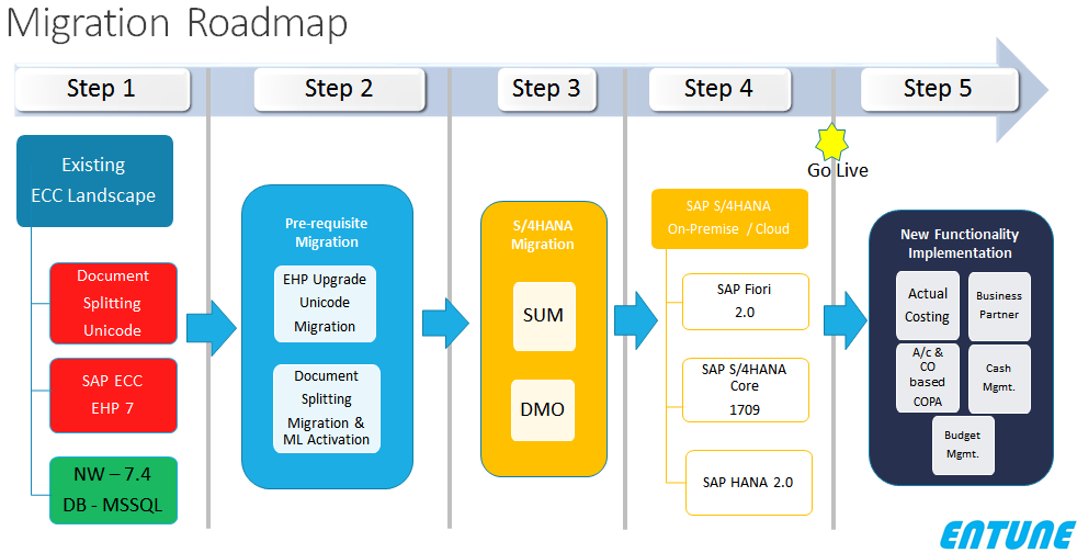 SAP S/4 HANA Migration